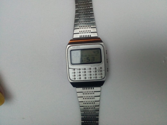 Relógio Calculadora Seiko