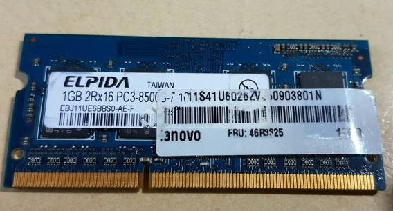Memoria Ram Soodim 1 Gb Ddr3 1066 Mhz Z/ Sur