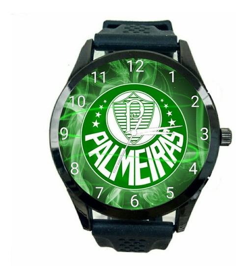 Relogio Personalizado Palmeiras Masculino De Pulso Futebol Club Novo Escudo Time Jogo Esportivo T376