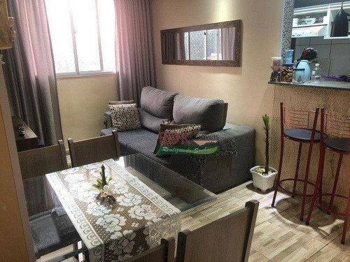 Imagem 1 de 12 de Apartamento Com 2 Dormitórios À Venda, 48 M² Por R$ 223.000 - Parque São Vicente - Mauá/sp - Ap8839