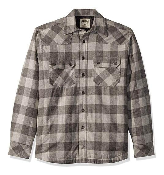 Camisa Ariat Wes Retro Para Hombre