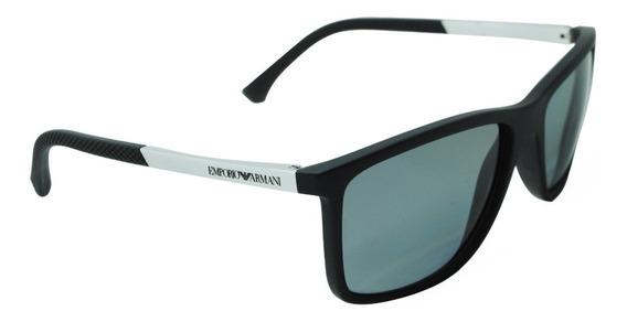 Óculos Solar Emporio Armani Polarizado Ea4058 5063/81 Tam 58
