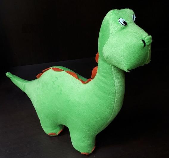 Dinossauro Dino Pelúcia 32cm Comprimento Decoração Presente