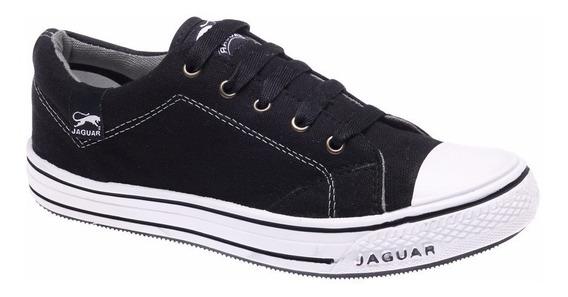 Zapatillas De Lona Marca Jaguar Clasicas Art 320