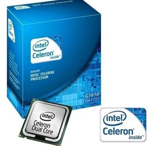 Imagem 1 de 3 de Processador Intel Celeron 2.6ghz - Lga 1155 - G1610 - Box