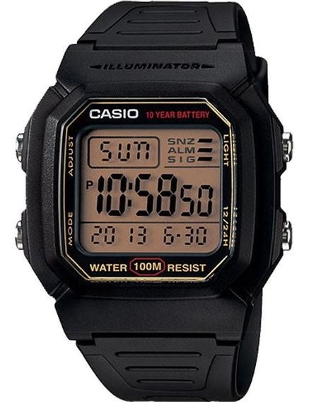 Relógio Casio Digital Masculino Preto W-800hg-9avdf