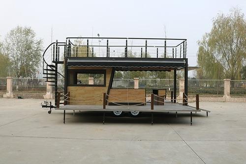 Food Truck Double Deck- Uso Comercio E Serviços Em Geral