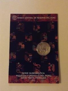 Serie Numismatica .blister - Arte Textil Paracas