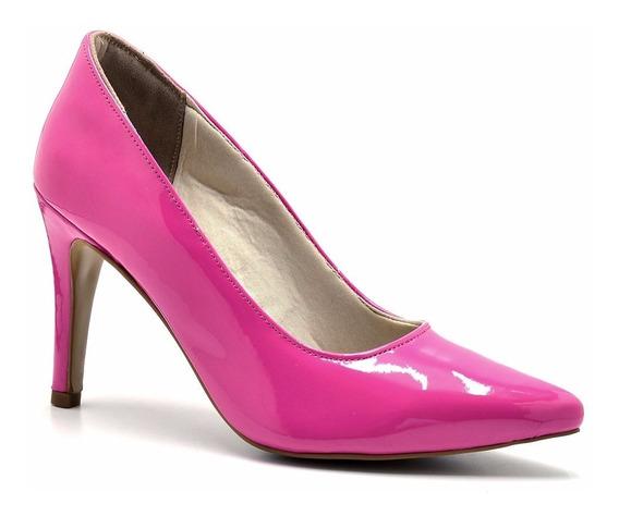 Scarpin Feminino Pink Salto Alto