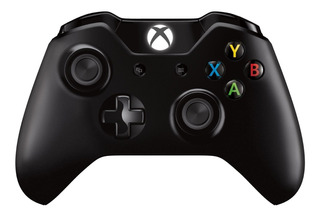Joystick inalámbrico Microsoft Xbox One Controller + Cable for Windows negro