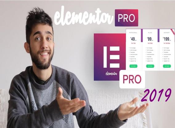 Licença Elementor Pro 3 Sites O Verdadeiro Elementor Pro 2019, Elementor Pro Completo, Licença Elementor Pro 1 Ano
