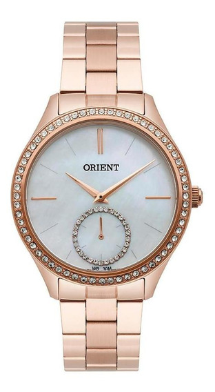 Relógi Orient Feminino Rose Madrepérola Frss0031 B1rx