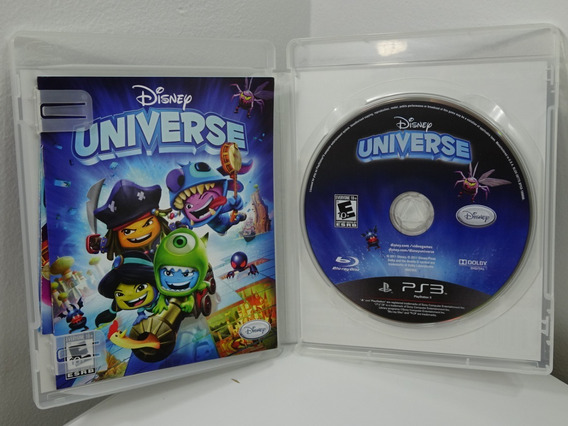 Disney Universe P/ Ps3 Original Dvd Físico C/manual -encarte