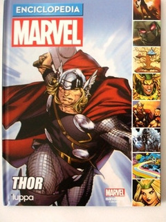 Thor Cómic De Enciclopediamarvel Thor Nuevo Original T. Dura