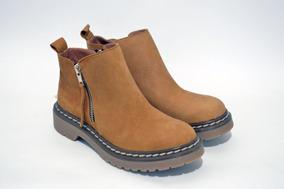 Botas Mujer Botitas,zapatos,con Cierre,cuero, Moda 2019 633g