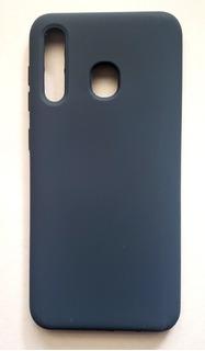 Funda Silicona Samsung Galaxy A20 Y A30 Liquid Silicone Case