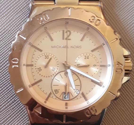 Relógio Original Michael Kors Feminino Mk5314 Quartz Rose