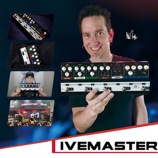 Biyang Livemaster Serie Lm -4 Mainframe Unit Blues Estilo Se