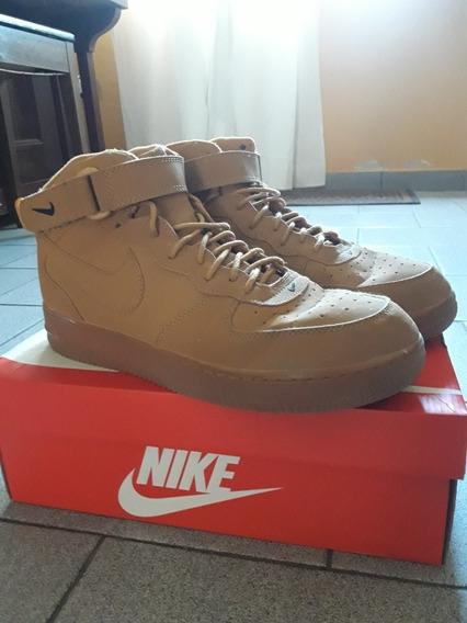 Nike Airforce 1 High (mid Flax)