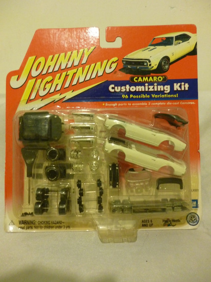 Johnny Lightning Chevy Camaro Customizing Kit - J P Cars