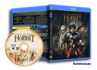 Blu Ray Trilogía The Hobbit Version Extendida - 3 Bluray