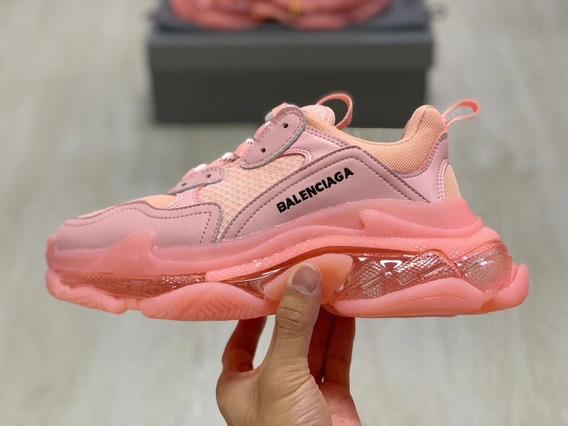 Zapatillas Balenciaga Triple S Rosa