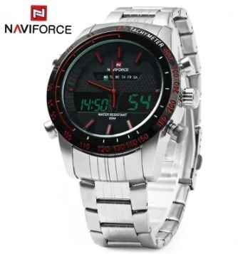 Relogio Masculino Digital Analogico Original Naviforce 9024