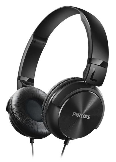 Fone De Ouvido Philips Preto Shl3060
