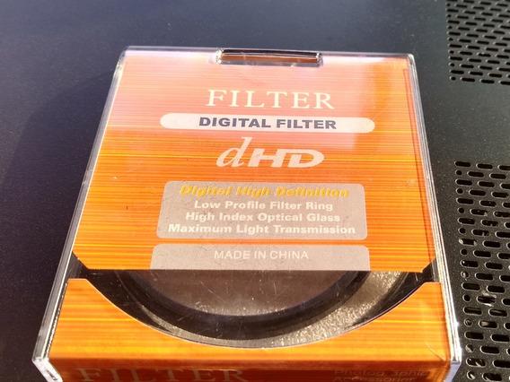 Filtro Para Câmera 72mm