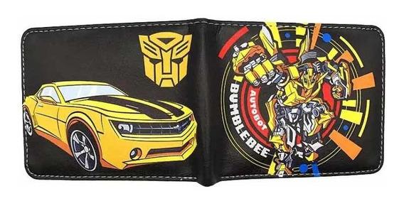 Billetera Transformers Bumblebee Autobot