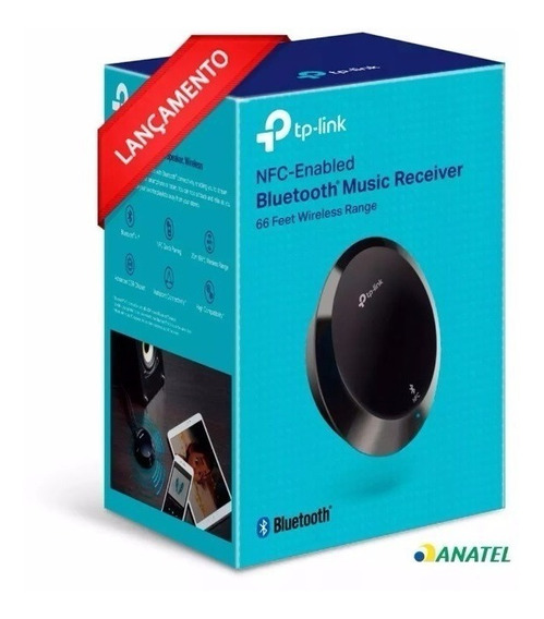 Receptor De Áudio Bluetooth Music Receiver Tp-link Ha100 V2