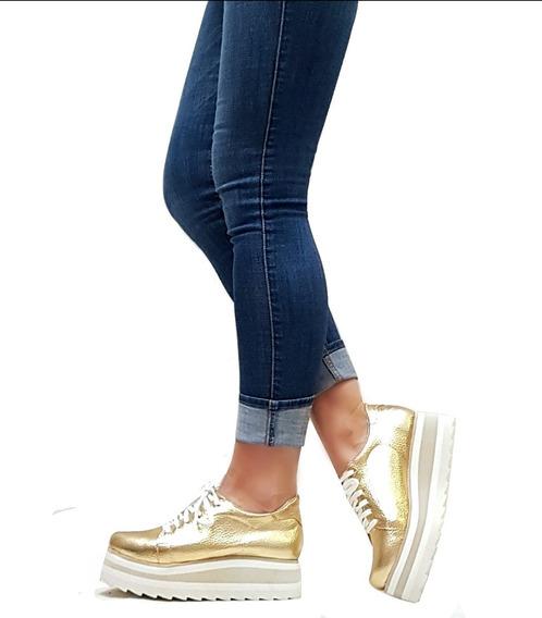 Zapatillas Sneakers Plataforma Goma Eva Verano 2019