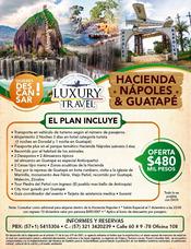 Hacienda Nápoles & Guatapé En Oferta
