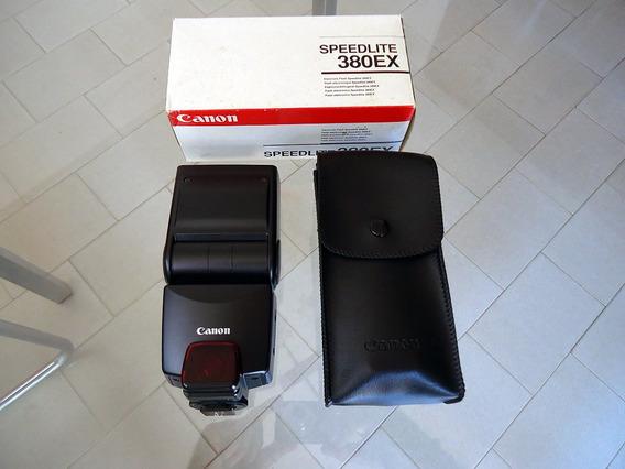 Flash Canon 380ex Usado 1 Vez 12x Sem Juros