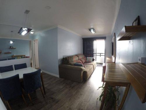 Apartamento Com 2 Dormitórios À Venda, 59 M² Por R$ 449.000,00 - Vila Santa Clara - São Paulo/sp - Ap6672