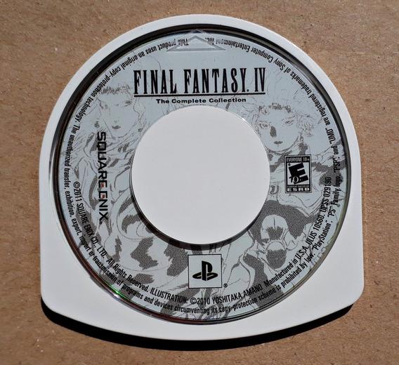 Jogo Final Fantasy Iv The Complete Collection Psp Míd Física