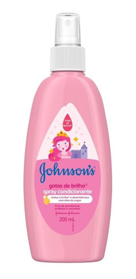 Spray Finalizador Johnsons Gotas De Brilho 200 Ml
