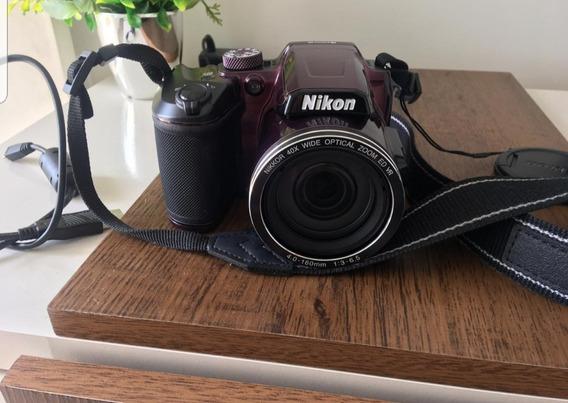 Câmera Nikon Coolpix B500 16mp Zoom 40x