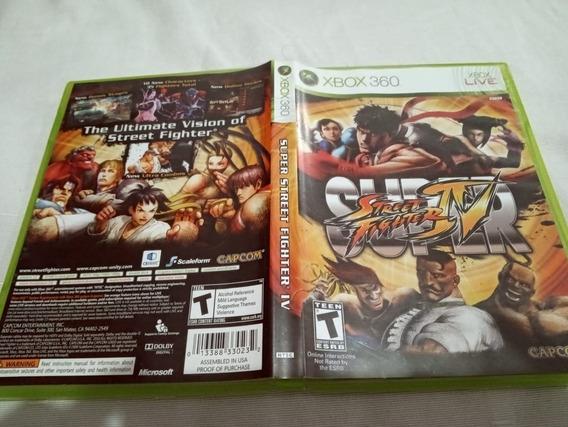 Games Jogos Super Street Fighter Iv Original Xbox360 1##cc
