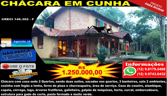 Chácara A Venda No Bairro Centro Em Cunha - Sp. - Ch131-1