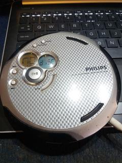 Discman Philips Con Caja Gira El Disco No Reproduce