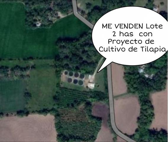 Lote 2 Has (20.000 Mts2) Proyecto Piscicola