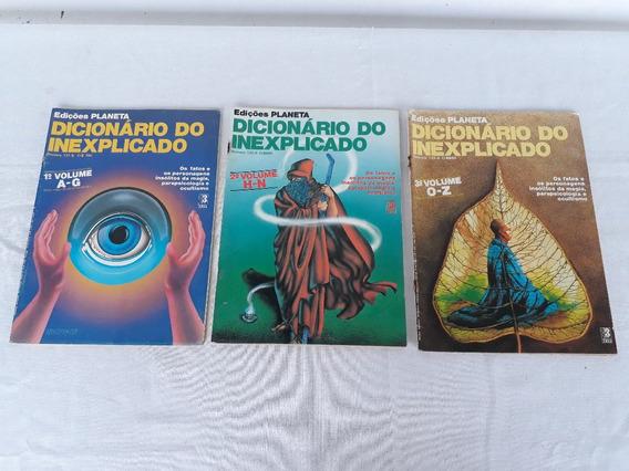 Revista Planeta Dicionario Do Inexplicado Volume De A - Z