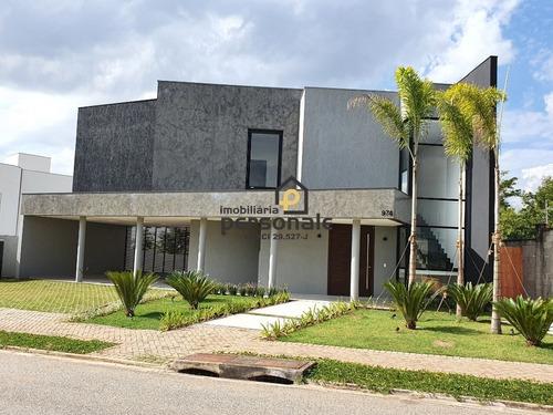 Casa Em Condomínio Em Sorocaba, Alphaville Nova Esplanada I - Ca00082 - 4949783