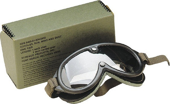Óculos Tático Militar Antigo 1974 (us Army) P/ Colecionador