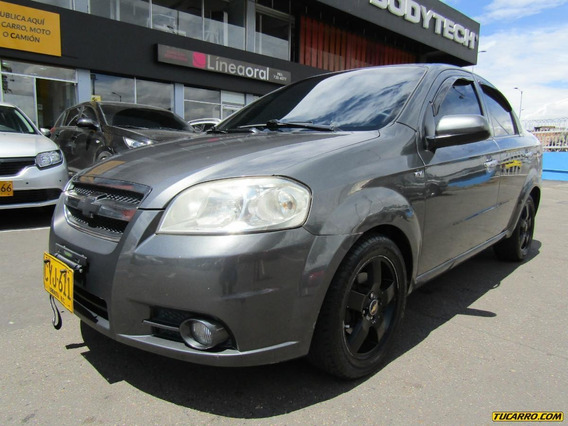 Chevrolet Aveo Emotion Sedan Full Equipo