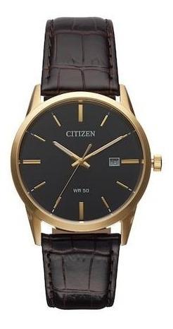 Reloj Citizen Bi5002-06e Acero Inoxidable Y Piel