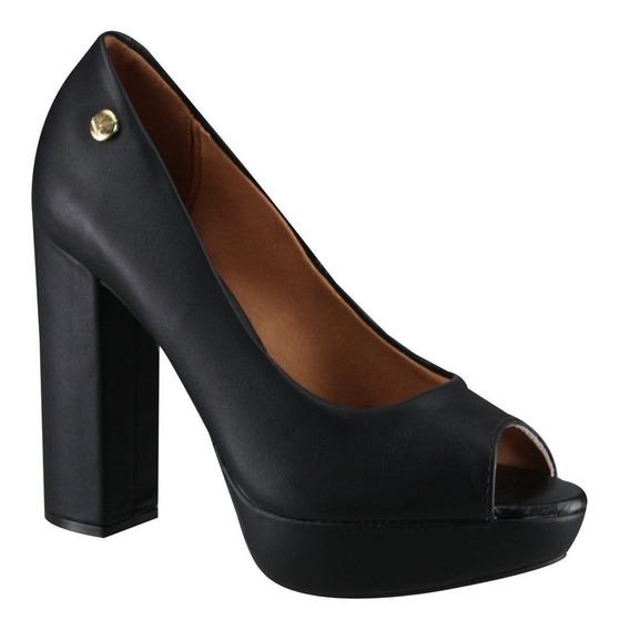 Zapatos Vestir Vizzano Punta Abierta Hermosos 35 Al 40