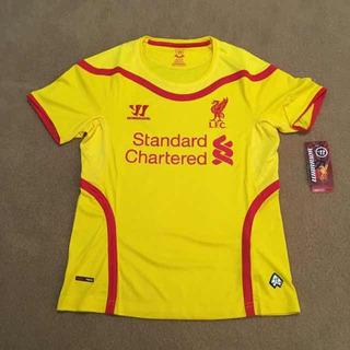Camisa Liverpool 2014/15 - Warrior