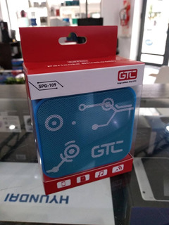 Parlante Gtc Spg-109 Bluetooth